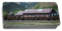 Portable Battery Charger featuring the photograph Entering Silverton by Colleen Coccia