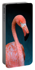 Entirely Unimpressed Flamingo Portable Battery Charger