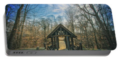 Portable Battery Charger featuring the photograph Entrance To Seven Bridges - Grant Park - South Milwaukee #3 by Jennifer Rondinelli Reilly - Fine Art Photography