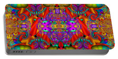 Portable Battery Charger featuring the digital art Environmental Protection-  by Robert Orinski