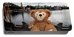 Epcot Bear Mp Portable Battery Charger