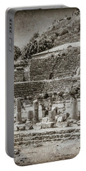 Portable Battery Charger featuring the photograph Ephesus, Turkey - Theater by Mark Forte