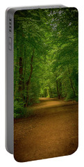 Epping Forest Walk Portable Battery Charger by David French