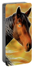 Equine Colors Portable Battery Charger by Steve McKinzie