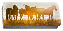 Equine Glow Portable Battery Charger by Todd Klassy