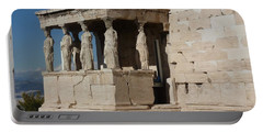Erechteion With Nike Temple Portable Battery Charger