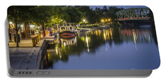 Erie Canal Shoreline Portable Battery Charger