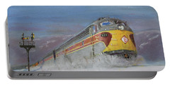 Erie Lackawanna Holiday Portable Battery Charger