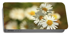 Erigeron Annuus Daisy Like Wildflower Portable Battery Charger