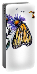 Erika's Butterfly One Portable Battery Charger