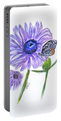 Erika's Butterfly Three Portable Battery Charger