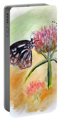 Erika's Butterfly Two Portable Battery Charger