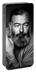 Ernest Hemingway 1944 Portable Battery Charger