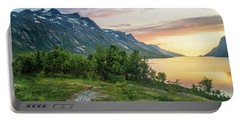Ersfjord Sunset Portable Battery Charger