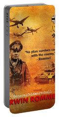 Erwin Rommel Tribute Portable Battery Charger
