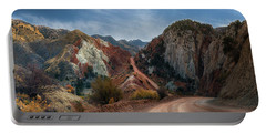 Grand Staircase Escalante Road Portable Battery Charger
