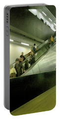 Portable Battery Charger featuring the photograph Escalator Tate Modern by Anne Kotan