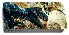Escape From Jurassic Park Portable Battery Charger