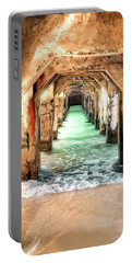 Portable Battery Charger featuring the digital art Escape To Atlantis by Pennie  McCracken