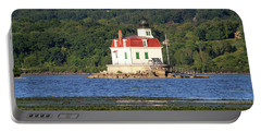 Portable Battery Charger featuring the photograph Esopus Lighthouse In Summer #4 by Jeff Severson