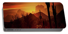 Portable Battery Charger featuring the photograph Essence Of The Southwest - Square  by Saija Lehtonen