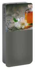 Essential Oil With Jasmine Flower Portable Battery Charger