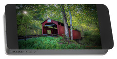 Portable Battery Charger featuring the photograph Esther Furnace Bridge by Marvin Spates