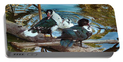 Estuary Ducks Portable Battery Charger