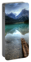 Eternal Reflections Emerald Lake Yoho National Park British Columbia Canada Portable Battery Charger
