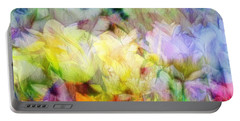 Ethereal Flowers Portable Battery Charger