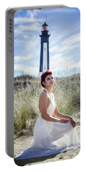 Ethereal Gaze Portable Battery Charger by Stefanie Silva