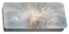 Ethereal Lightness Portable Battery Charger by Jenny Rainbow