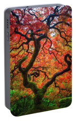 Portable Battery Charger featuring the photograph Ethereal Tree Alive by Darren White