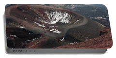 Etna, Red Mount Crater Portable Battery Charger