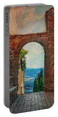 Etruscan Arch Portable Battery Charger by Hanny Heim