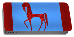 Etruscan Horse #2 Portable Battery Charger
