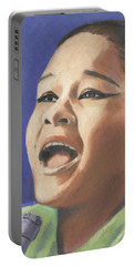 Etta James Portable Battery Charger