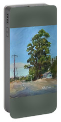 Eucalyptus Tree Near Schellville, Ca Portable Battery Charger