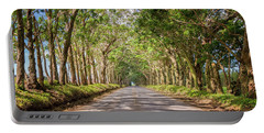 Eucalyptus Tree Tunnel - Kauai Hawaii Portable Battery Charger