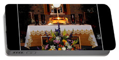 Eucharist I Am The Bread Of Life Portable Battery Charger