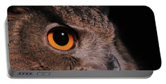 Eurasian Eagle-owl #3 Portable Battery Charger