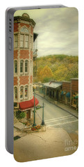 Portable Battery Charger featuring the photograph Eureka Springs by Jill Battaglia