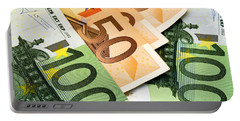 Euro Banknotes Portable Battery Charger