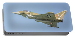 Portable Battery Charger featuring the photograph Euro Fighter by Roy McPeak
