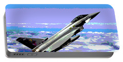 Eurofighter Typhoon Portable Battery Charger by Charles Shoup