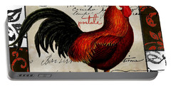 Europa Rooster II Portable Battery Charger by Mindy Sommers