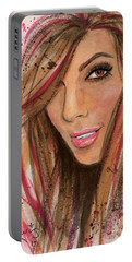 Eva Longoria Portable Battery Charger by P J Lewis