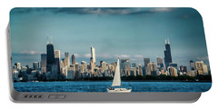Evan's Chicago Skyline  Portable Battery Charger