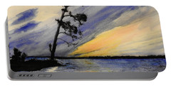 Evening At Petrie Island Portable Battery Charger by Betty-Anne McDonald