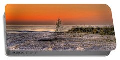 Evening Beach Glow  Portable Battery Charger